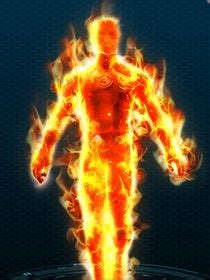 costume human torch marvel heroes wiki guide ign