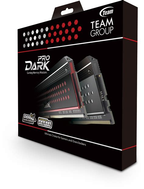 Memory Team team launches pro ddr4 memory for enthusiasts and gamers