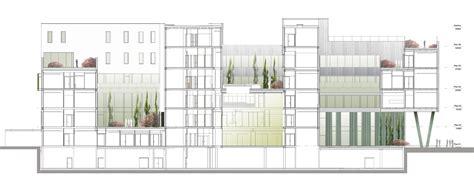 Hospital Sections by Kronstad Psychiatric Hospital Origo Arkitektgruppe