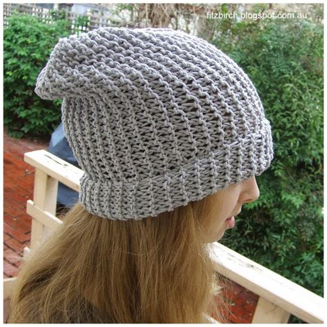 knitting patterns for beanies with needles 50 shades of grey beanie allfreeknitting