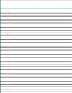 handwriting lines template 4 lines writing template lined paper words