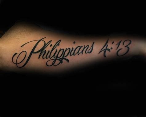 phil 4 13 tattoo 40 philippians 4 13 designs for bible verse ideas