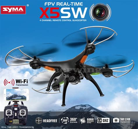 Syma X5sw Wi Fi With Hd syma x5sw v3 wifi fpv 2 4g rc quadcopter drone with hd