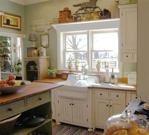 Cottage Style Kitchen Cabinets by 1890 Cottage Style Kitchen Traditional Cincinnati By