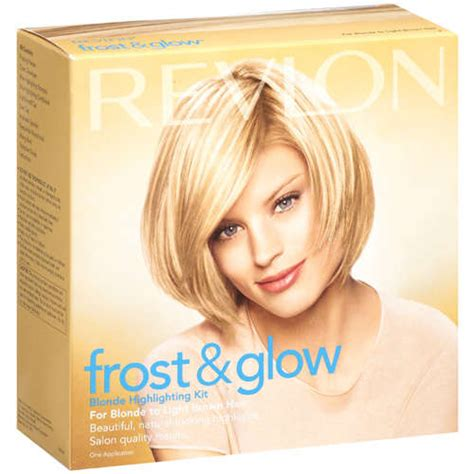 highlighting hair kits frost glow blonde highlighting kit walmart com