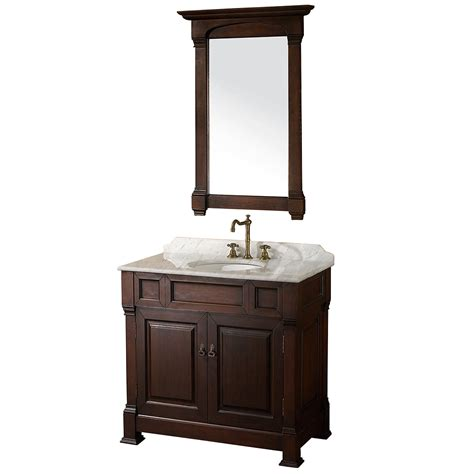 cherry bathroom vanities 36 quot andover 36 dark cherry bathroom vanity bathroom