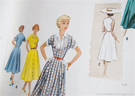 vintage mccalls pattern books 1954 mccalls pattern book two old beans vintage clothing