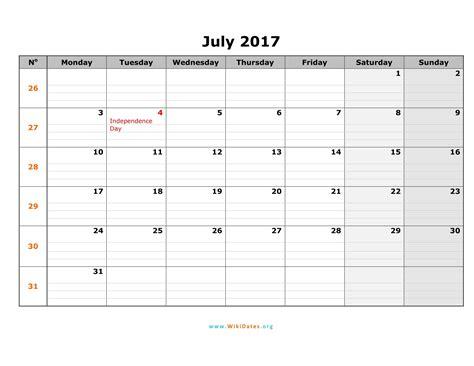 printable calendar in word 2017 july 2017 calendar word calendar printable free