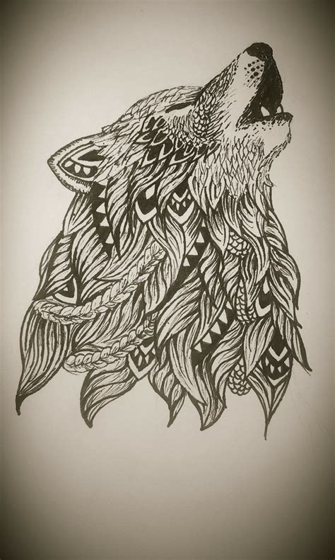 tribal wolf and moon tattoo 90 best silhouette pics images on