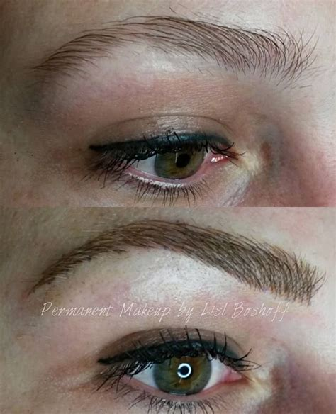 natural eyebrow tattoo microblade eyebrow by lislboshoff