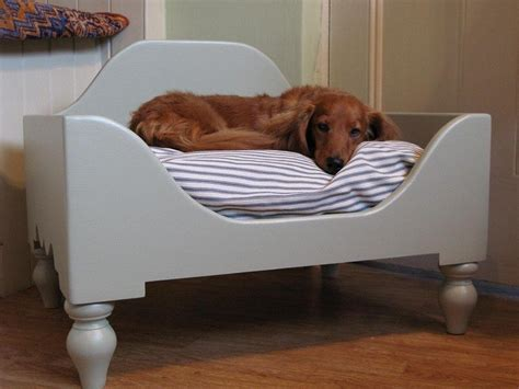 diy raised dog bed diy dog bed project how to make a homemade dog bed