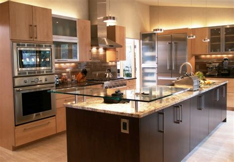 stunning modern kitchen ideas offer wooden cabinets and