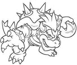 dry bowser free coloring pages art coloring pages
