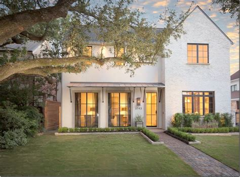 custom home design houston tx custom white painted brick mixed with stucco front