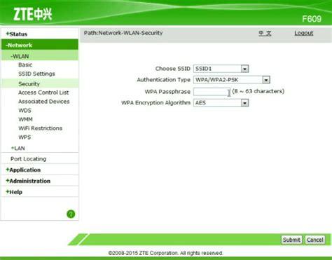 Wifi Zte F609 cara merubah password wifi indihome ganti kata sandi nama ssid modem zte alcate kolom gadget