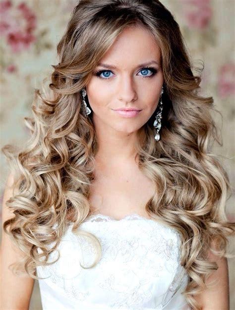 wedding hairstyles curls down bridal hair all down curls weddings wedding