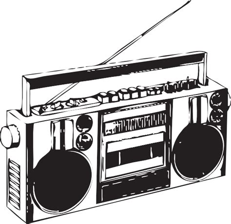 Boombox Clipart boombox clip at clker vector clip royalty free domain