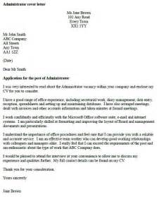 covering letter for cv uk administrator cover letter exle icover org uk
