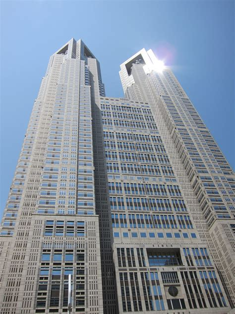 2 Floor Houses by Tokyo Nishi Shinjuku Tokyo Metropolitan Government Buil