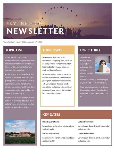 Free Microsoft Publisher Newsletter Templates Resume Exles Free Classroom Newsletter Templates For Microsoft Word