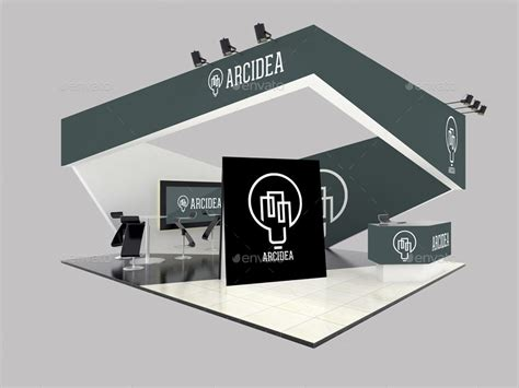 exhibition stand design mockup free download exhibition stand mockups by anshar4official graphicriver