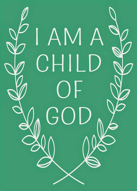 child of god craft mei i am a child of god