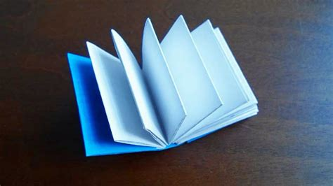 Origami Book - make a mini origami book crafts guidecentral