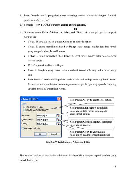 langkah langkah membuat jurnal umum pada microsoft excel contoh jurnal akuntansi excel