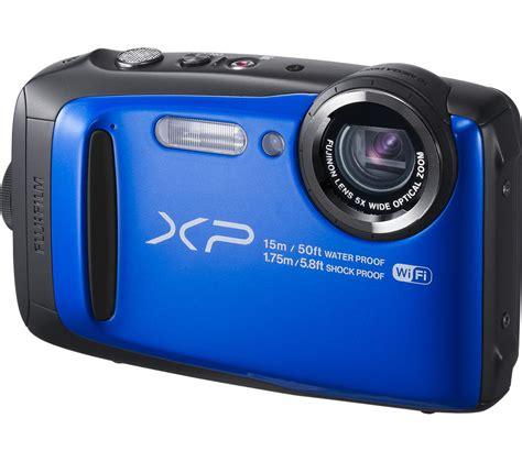 fujifilm tough fujifilm xp90 tough compact blue deals pc world