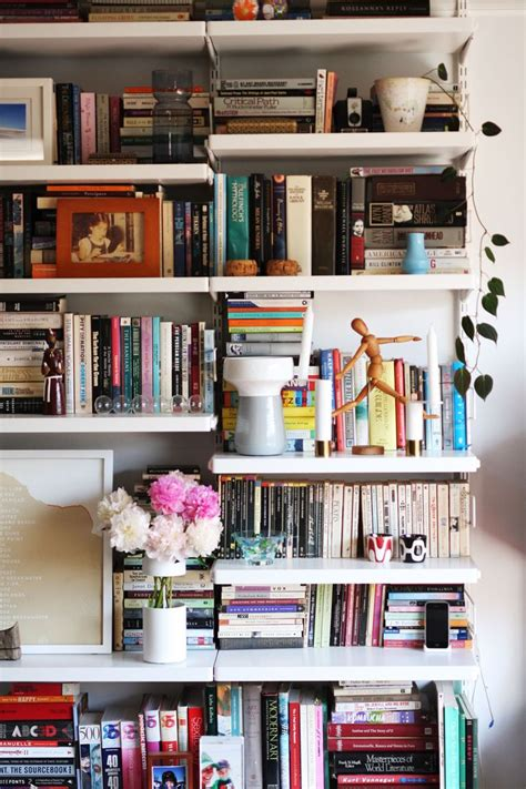 books for decorating shelves how real people do bookshelf styling real people people