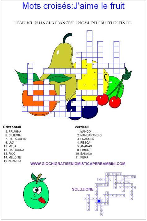 alimenti in tedesco frutta giochi enigmistici per bambini esercizi inglese