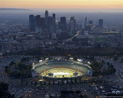 los angeles dodgers ballpark dodger stadium chavez ravine desktop background