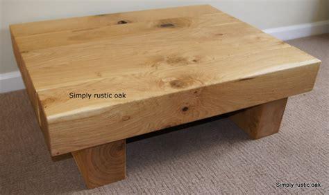Mini Coffee Table 5 Mini Beam Rustic Oak Coffee Table By Simply Rustic Oak Bespoke Custom Made Rustic Oak Furniture