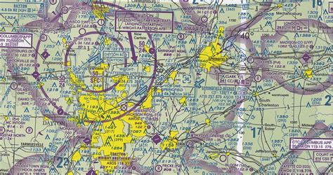 aviation sectionals sectional chart for wright patterson afb ffo cincinnati