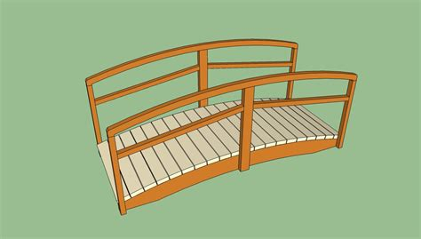 wooden bridge plans pdf diy wooden garden bridge plans download teds
