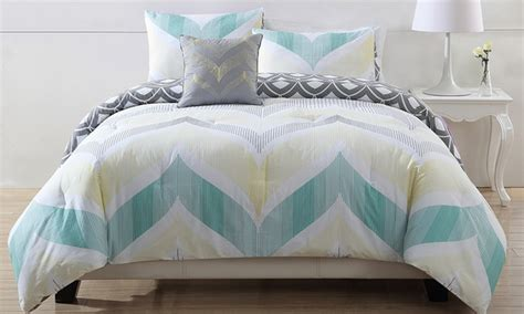 3 piece cotton comforter sets deal of the day groupon