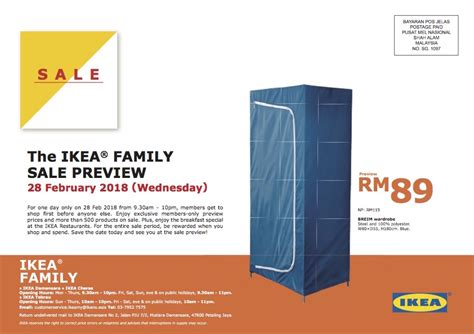 ikea family price ikea sale is back on march 1st 11th sale preview feb
