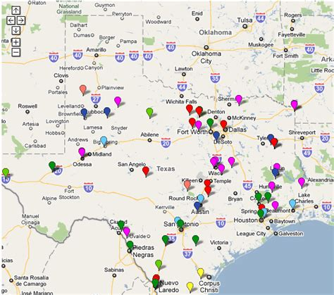 texas prisons map map of texas prisons cakeandbloom
