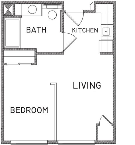 one bedroom studio apartments plans room image and wallper 2017