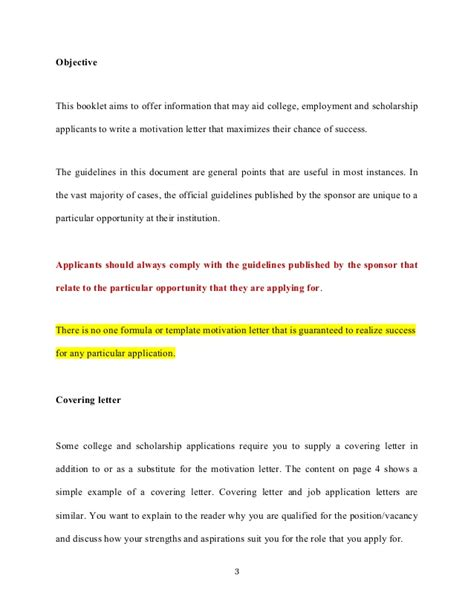 motivational letter for college application motivation letter and motivation essays college applications