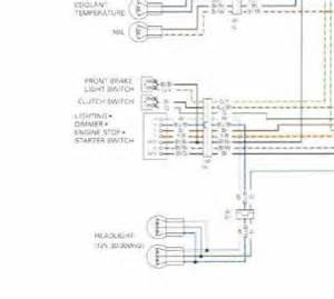 service manual wiring diagram blurry club700xx honda
