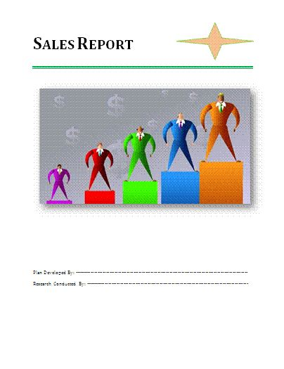 sle reports 6 sales report templates free pdf ms word formats