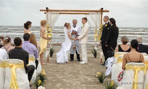 Romantic Beach Wedding Photography in Galveston Texas