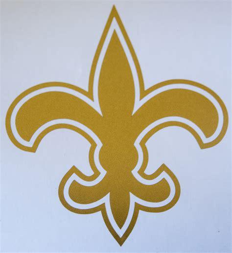 Lis Stiker gold fleur de lis wall decal