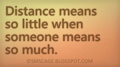Distance Relationship Quotes July 2014 Sms Cage