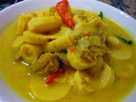 Minyak Ikan Buat Ayam resepi rebung masak lemak cili api pedas resepi dapur malaysia