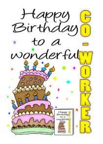 Happy birthday wishes co worker