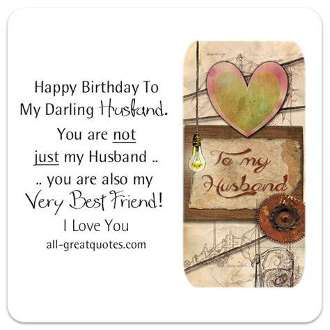 birthday cards  husband happy birthday