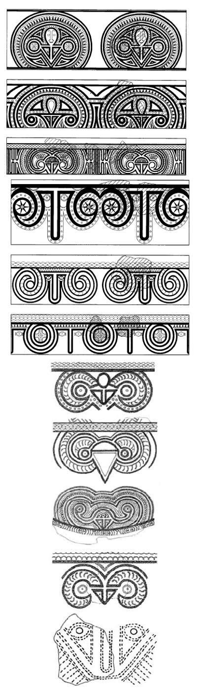 melanesian tattoo designs melanesian designs exles of lapita faces taken from