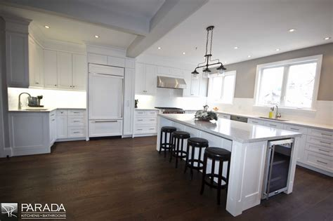 Parada Kitchens toronto kitchen renovation project with shaker style